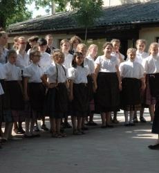Iskola kórusa - Schulchor