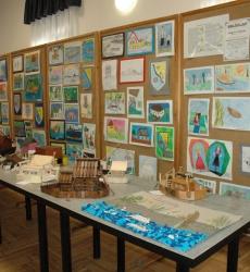 Projektnap, kiállítás - Projekttag, Ausstellung