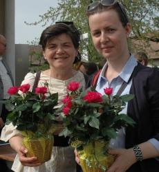 A szervezők - Szeltnerné Winhardt Ildikó és Pittler Mária